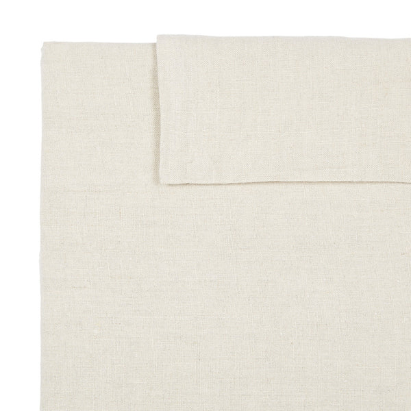 Linen Standard Pillowcase - Natural