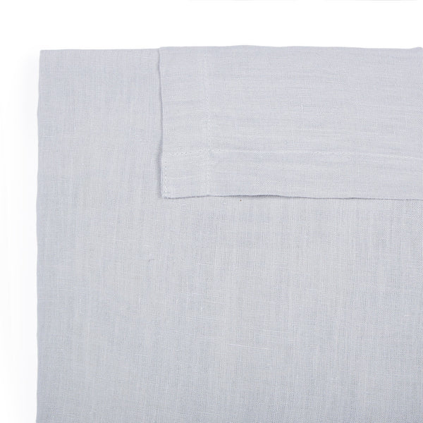 Linen Quilt Cover - Dash Grey