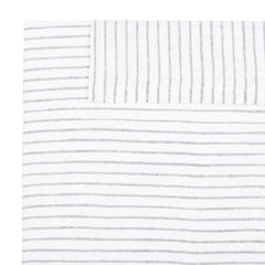 Linen Standard Pillowcase - Pinstripe