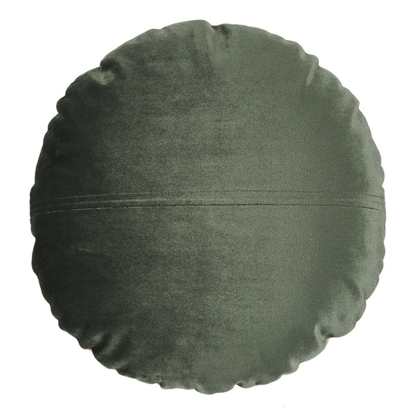 Eden Round Velvet Cushion