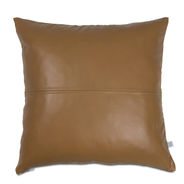 Esther 40cm Tan Leather Cushion