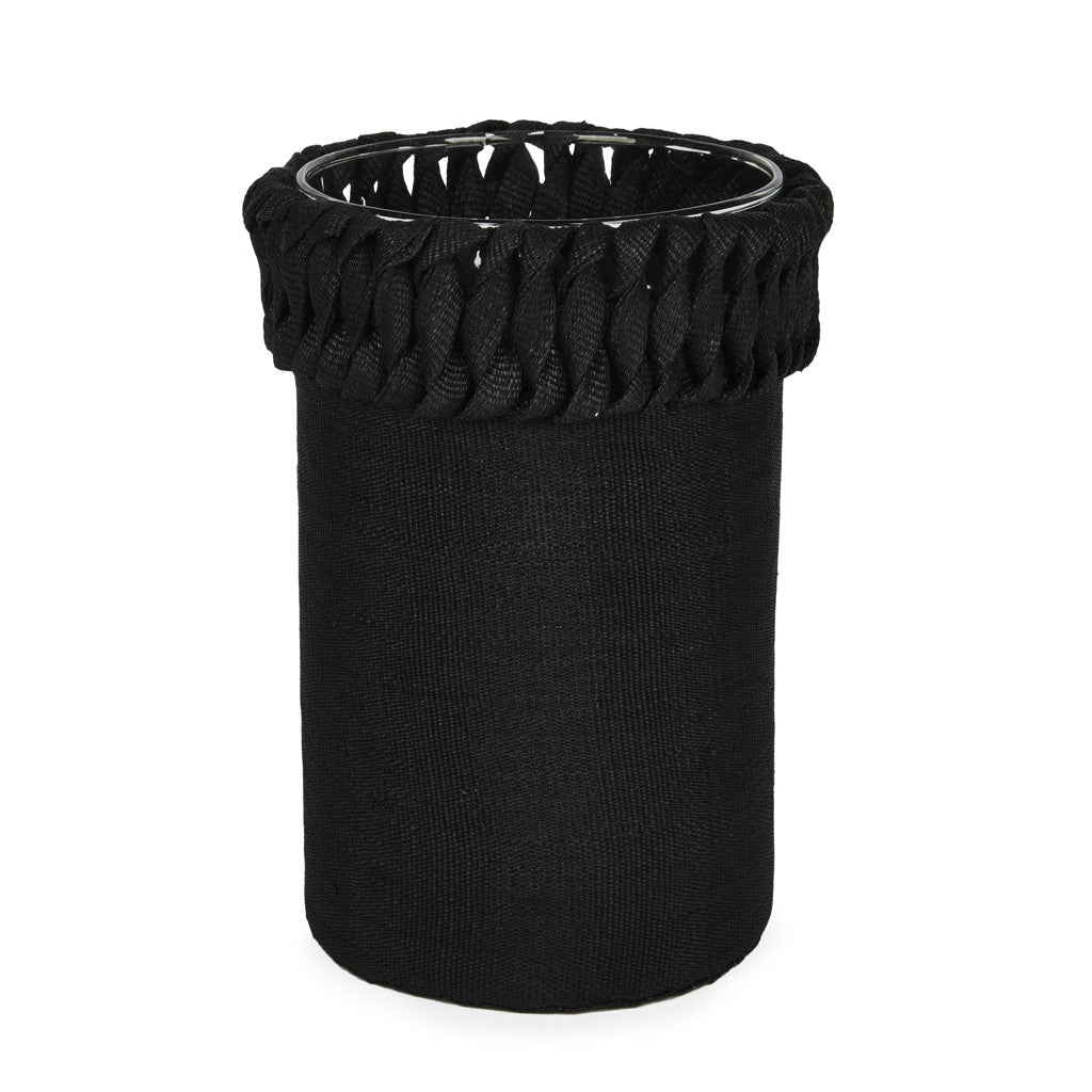 Samba Macrame Vase Black - Medium