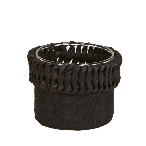 Samba Macrame Vase Black - Small