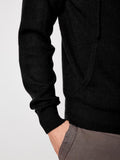 The Cashmere Hoody - Clean Black