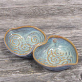 Small Double Heart Bowl - The Irish Gift Market