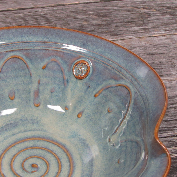 "Medium ""Newgrange"" Serving Bowl by Castle Arch Pottery Ireland"