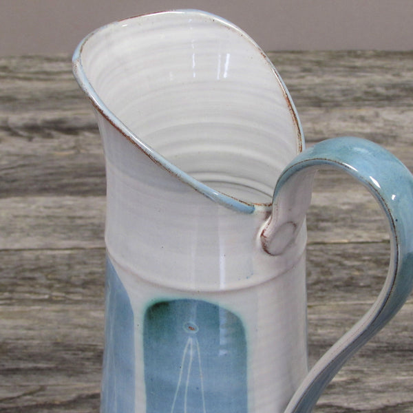 Large Table Pitcher - Blue