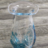 Small post Flower Vase by The Irish Handmade Glass Company Waterford