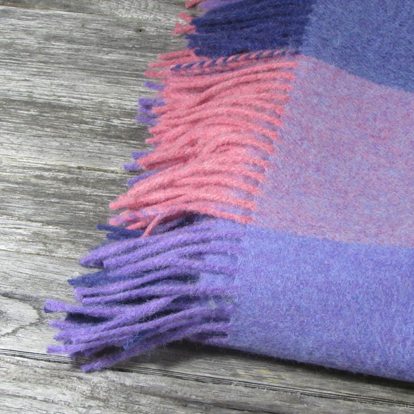 Lambswool Throw Blanket