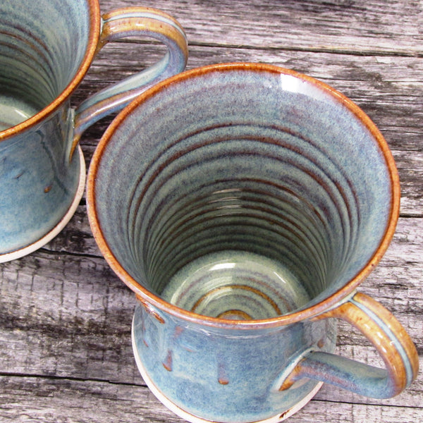Set of Two Coffee Mugs by Castle Arch Pottery Ireland