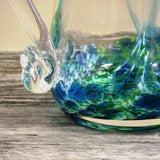 Glass Pitcher-Seascape Green - The Irish Gift Market