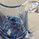 Hand blown glass pitcher Jerpoint Glass made in Ireland