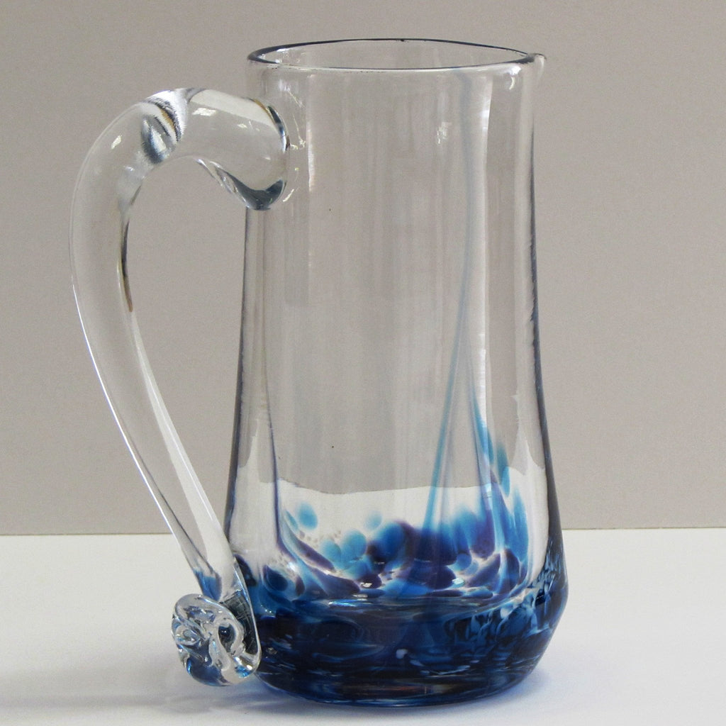 Glass Pitcher-Heather Blue