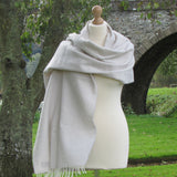 Merino Cashmere Pashmina Shawl-Cream - The Irish Gift Market