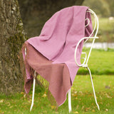 Lambswool Blanket-Plum - The Irish Gift Market