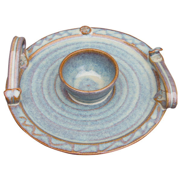 Party Serving Plate with Dip Bowl by Castle Arch Pottery Ireland ...  sc 1 st  The Irish Gift Market & Irish tableware wool throws gifts from Ireland-Free Fast US ...