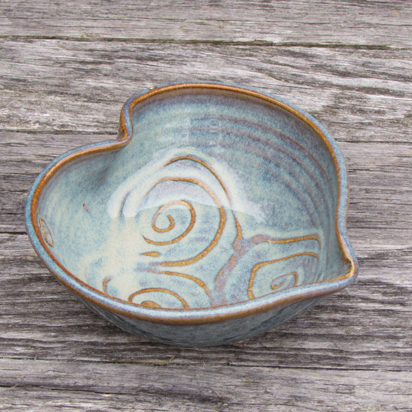 Small Decorative Heart Bowl by Castle Arch Pottery Ireland