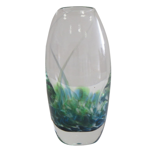 Tulip Flower Vase- Seascape Green
