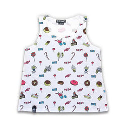 Six Bunnies Kids Tank Top - Sweets - Badass Babies