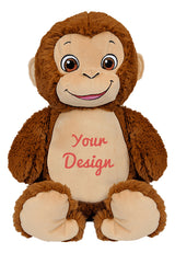 Cubbies Monkey Personalised Soft Toy