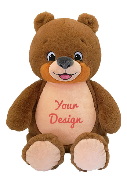 Cubbies Brown Teddy Bear Personalised Soft Toy