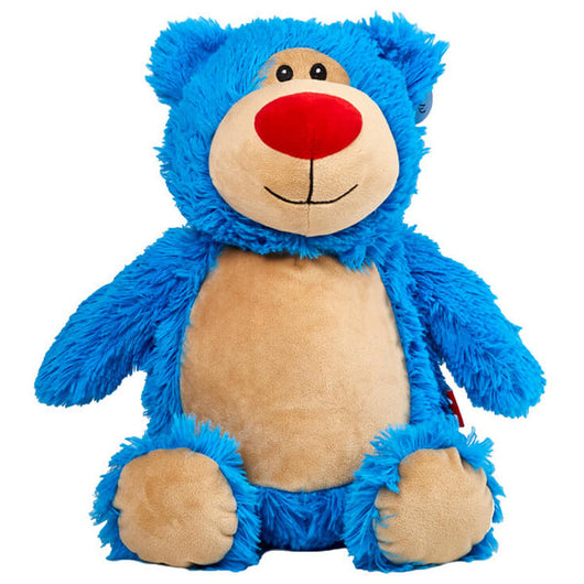 Cubbies Cubbyford Turquoise Bear Personalised Soft Toy