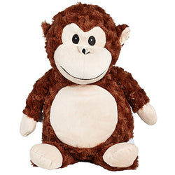 Cubbies Huggles Monkey Personalised Soft Toy