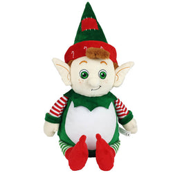 Cubbies Tinsel Toes The Christmas Elf Personalised Soft Toy