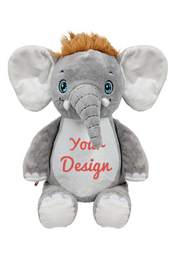 Cubbies Elephant Personalised Soft Toy