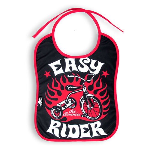 Easy Rider Baby Bib - Six Bunnies