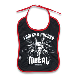 Future of Metal Baby Bib - Six Bunnies