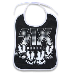 Rockgroup Baby Bib - Six Bunnies