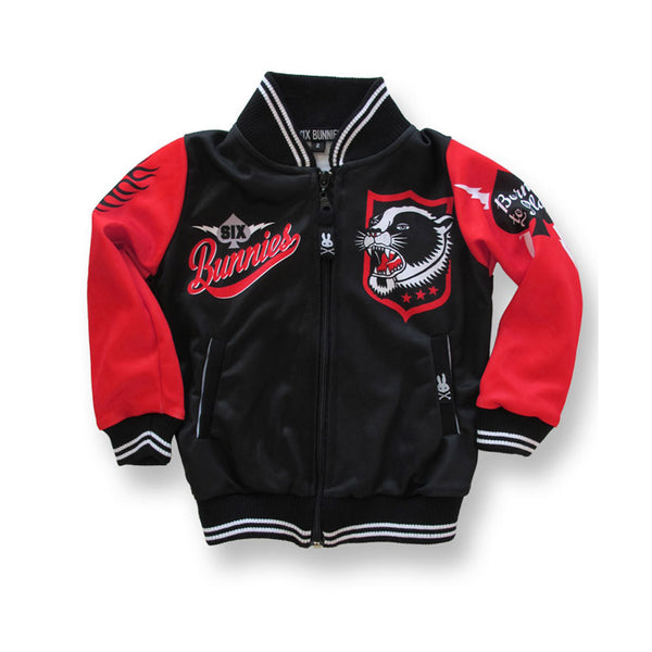 Six Bunnies Kids Jackets - Panther - Badass Babies