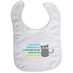 Baby Bib - Soft Kitty