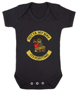 Outta My Way... Its Playtime Babygrow - Badass Babies - 1