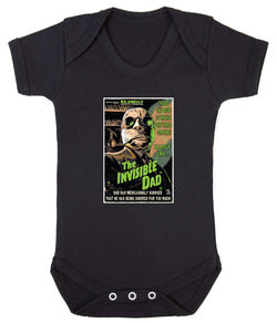 The Invisible Dad Babygrow - Badass Babies - 1