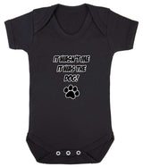 It Wasn't Me, It was the Dog! Baby Romper Bodysuit - Badass Babies - 2