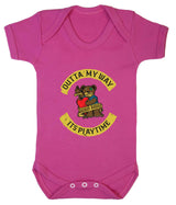 Outta My Way... Its Playtime Babygrow - Badass Babies - 2