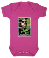 The Invisible Dad Babygrow - Badass Babies - 2