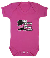 The Ministry of Funny Smells Babygrow - Badass Babies - 3
