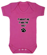 It Wasn't Me, It was the Dog! Baby Romper Bodysuit - Badass Babies - 3