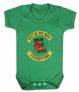 Outta My Way... Its Playtime Babygrow - Badass Babies - 3