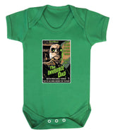 The Invisible Dad Babygrow - Badass Babies - 3