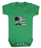 The Ministry of Funny Smells Babygrow - Badass Babies - 4