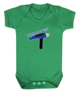Set Phasers To Cute Babygrow - Badass Babies - 4