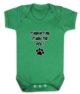 It Wasn't Me, It was the Dog! Baby Romper Bodysuit - Badass Babies - 4