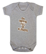 My Nappy's Full of Klingons Babygrow - Badass Babies - 5