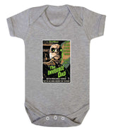 The Invisible Dad Babygrow - Badass Babies - 4