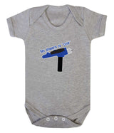 Set Phasers To Cute Babygrow - Badass Babies - 5