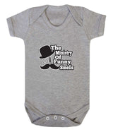 The Ministry of Funny Smells Babygrow - Badass Babies - 5